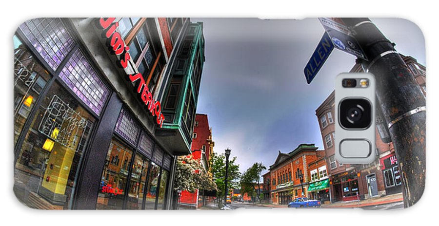 Allentown Galaxy S8 Case featuring the photograph 003 Jims Steakout by Michael Frank Jr