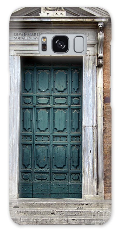 Rome Galaxy S8 Case featuring the photograph 0053 Roman Door 2 by Steve Sturgill