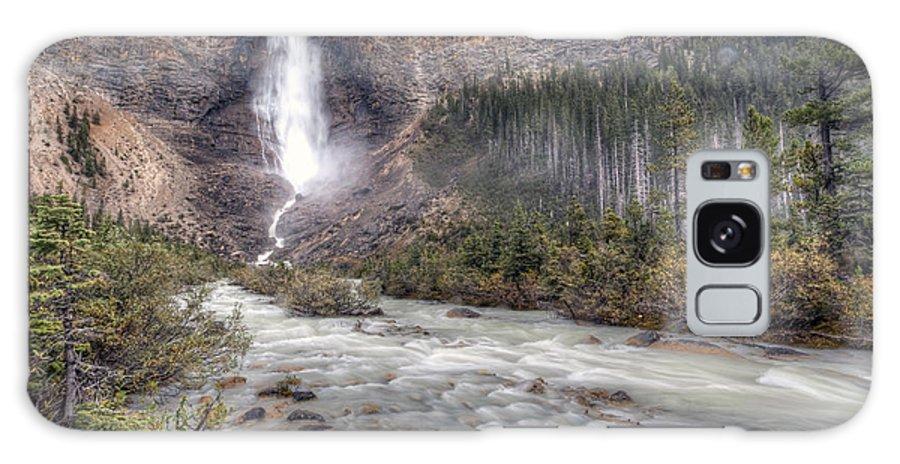 Takakkaw Galaxy S8 Case featuring the photograph 0163 Takakkaw Falls by Steve Sturgill