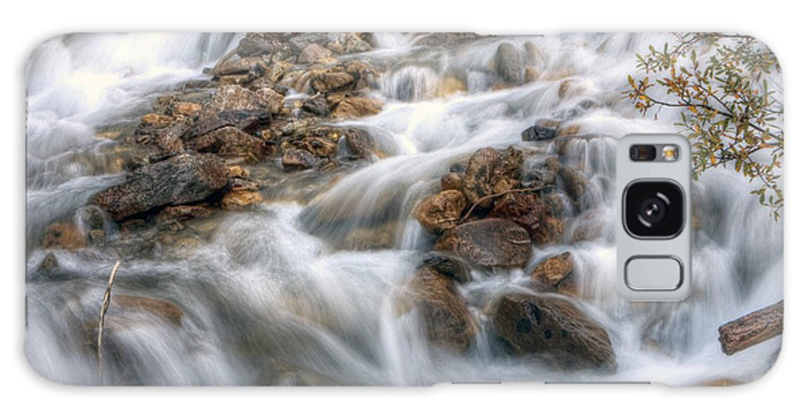 Falls Galaxy S8 Case featuring the photograph 0190 Glacial Runoff 2 by Steve Sturgill