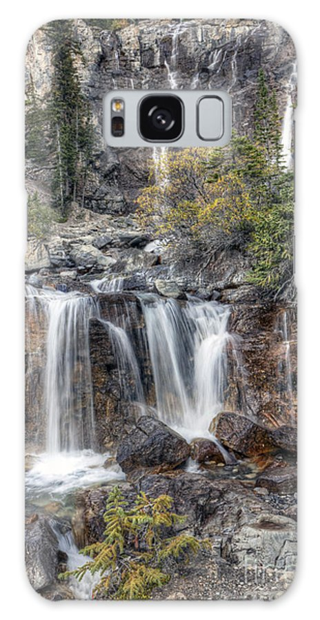 Tangle Galaxy S8 Case featuring the photograph 0202 Tangle Creek Falls 5 by Steve Sturgill