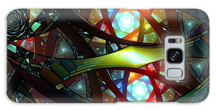 Still Life Galaxy S8 Case featuring the painting 0218 by I J T Son Of Jesus