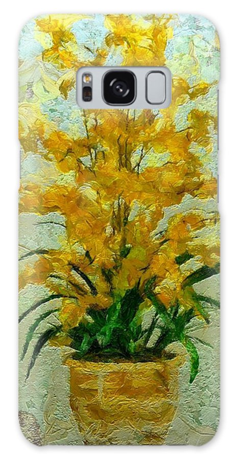 Still Life Galaxy S8 Case featuring the painting 0255 by I J T Son Of Jesus