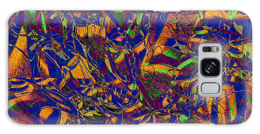 Abstract Galaxy S8 Case featuring the digital art 0630 Abstract Thought by Chowdary V Arikatla