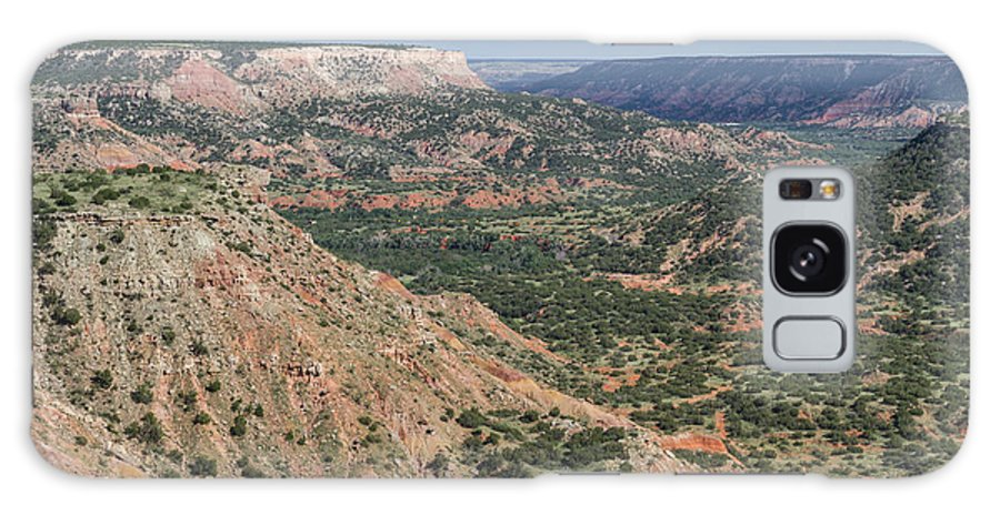 Palo Duro Canyon Galaxy S8 Case featuring the photograph 07.30.14 Palo Duro Canyon - Lighthouse Trail 5e by Ashley M Conger