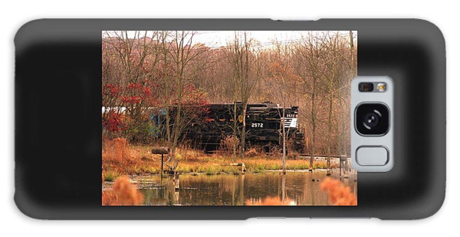 Train Galaxy S8 Case featuring the photograph 080706-57 by Mike Davis