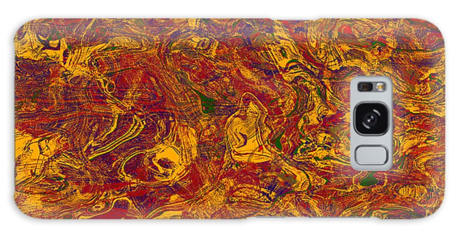 Abstract Galaxy S8 Case featuring the digital art 0202 Abstract Thought by Chowdary V Arikatla