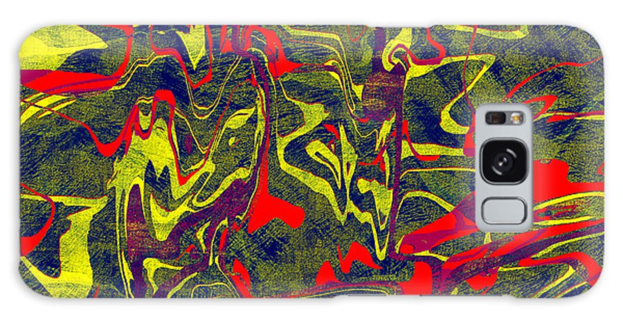 Abstract Galaxy S8 Case featuring the digital art 0399 Abstract Thought by Chowdary V Arikatla