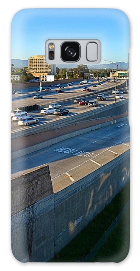 Cars Galaxy S8 Case featuring the photograph 101 At The 405 by Tommi Trudeau
