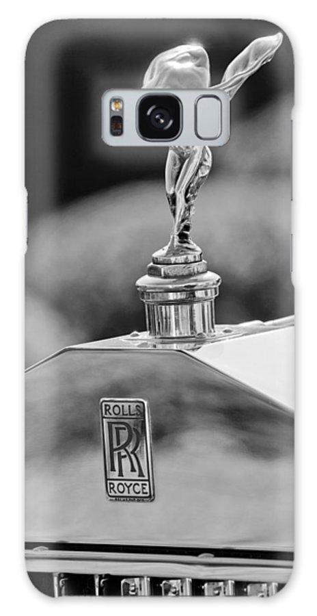 1930 Rolls-royce Phantom I Transformal Phaeton Hood Ornament Galaxy S8 Case featuring the photograph 1930 Rolls-royce Phantom I Transformal Phaeton Hood Ornament by Jill Reger