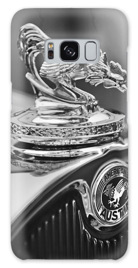 1931 American Austin Roadster Hood Ornament Galaxy S8 Case featuring the photograph 1931 American Austin Roadster Hood Ornament by Jill Reger