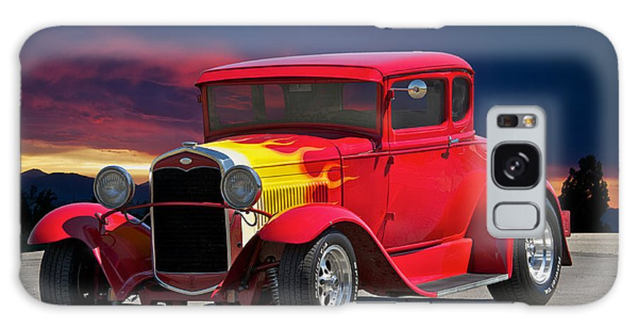 Coupe Galaxy S8 Case featuring the photograph 1931 Ford 'model A' Coupe by Dave Koontz