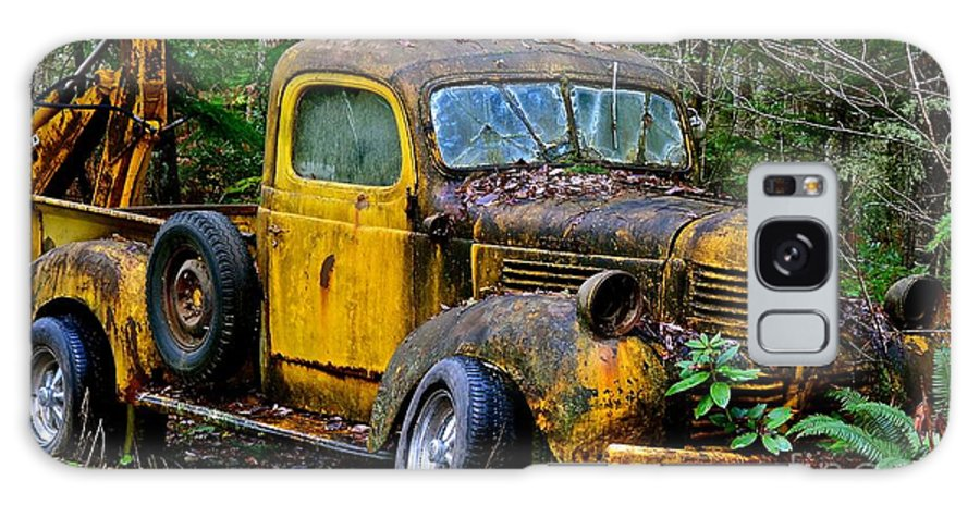 Antique Pickups Canvas Prints Galaxy S8 Case featuring the photograph 1941 Dodge Pickup by Lisa Telquist