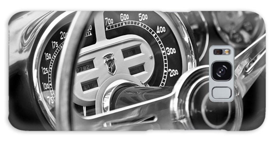 1953 Fiat 8v Ghia Supersonic Steering Wheel Galaxy S8 Case featuring the photograph 1953 Fiat 8v Ghia Supersonic Steering Wheel by Jill Reger
