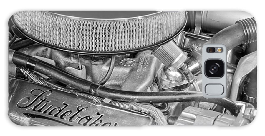 1953 Studebaker Champion Starliner Engine Galaxy S8 Case featuring the photograph 1953 Studebaker Champion Starliner Engine by Jill Reger