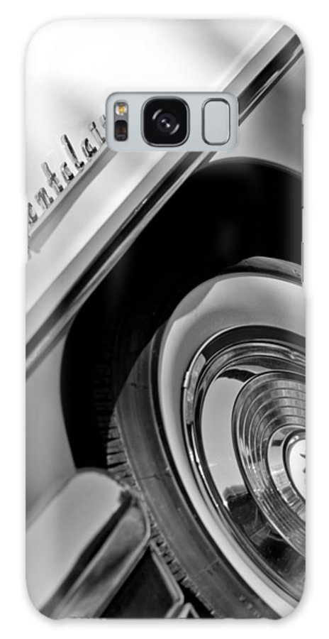 1956 Mercury Montclair Wheel Emblem Galaxy S8 Case featuring the photograph 1956 Mercury Montclair Wheel Emblem by Jill Reger