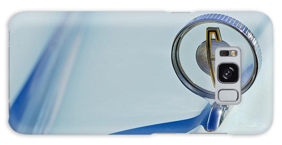 Car Galaxy S8 Case featuring the photograph 1958 Edsel Ranger Hood Ornament by Jill Reger