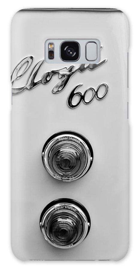 1960 Lloyd 600 Taillight Emblem Galaxy S8 Case featuring the photograph 1960 Lloyd 600 Taillight Emblem by Jill Reger