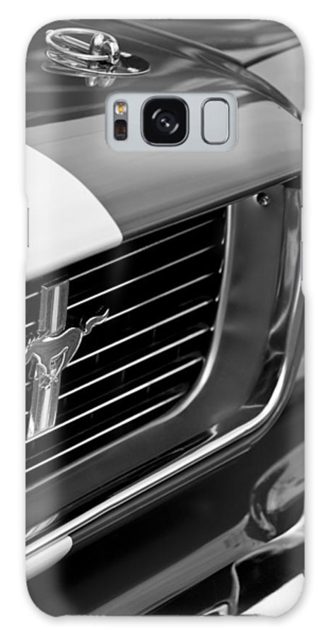 1966 Shelby Gt 350 Grille Emblem Galaxy S8 Case featuring the photograph 1966 Shelby Gt 350 Grille Emblem by Jill Reger