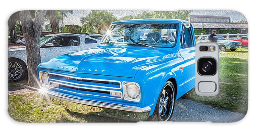 1967 Chevy Silverado Pick Up Truck Painted Galaxy S8 Case