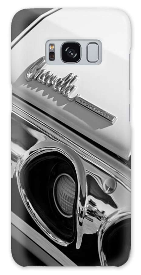 1972 Chevrolet Chevelle Taillight Emblem Galaxy S8 Case featuring the photograph 1972 Chevrolet Chevelle Taillight Emblem by Jill Reger