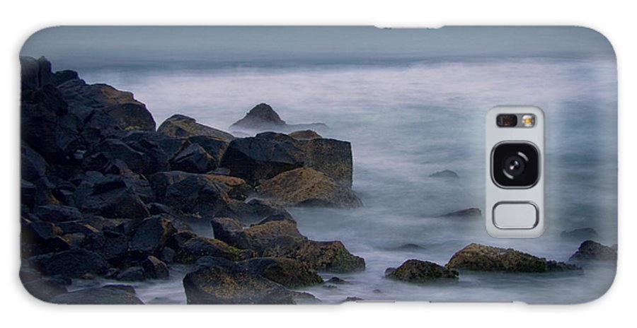 Rocks Galaxy S8 Case featuring the photograph A Little Rocky by Michael James