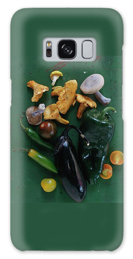 Fruits Galaxy S8 Case featuring the photograph A Pile Of Vegetables by Romulo Yanes