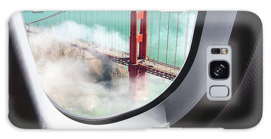 Scenics Galaxy Case featuring the photograph Aerial View Of San Francisco Golden by Franckreporter