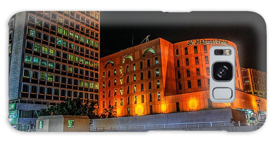 City Galaxy S8 Case featuring the photograph Al Balad District by Lik Batonboot