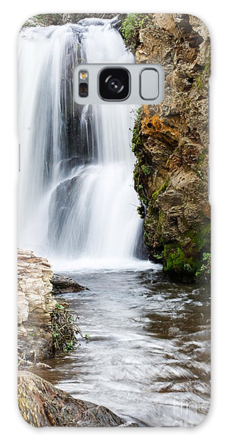 Waterfall Galaxy S8 Case featuring the photograph Allamere Falls by Tim Tolok