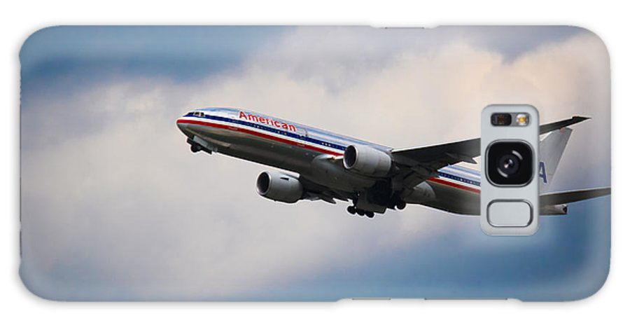 American Airlines Galaxy S8 Case featuring the photograph American Airlines Boeing 777 by Rene Triay Photography