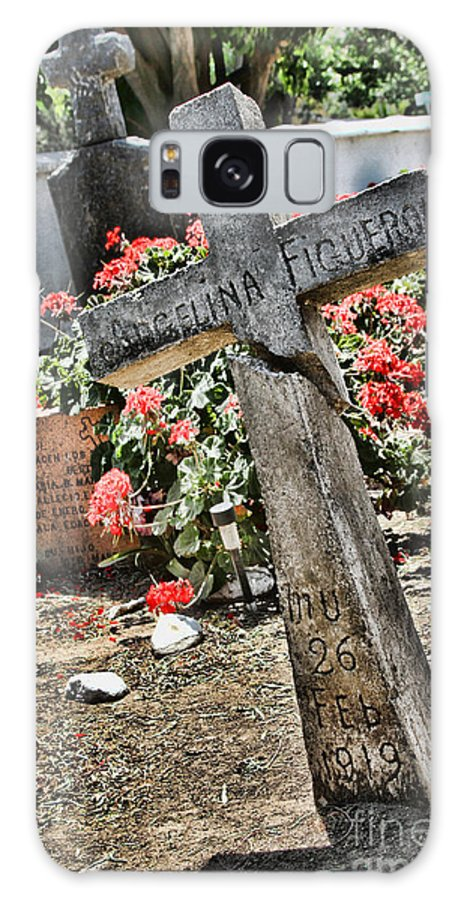 Cemetery Galaxy S8 Case featuring the photograph Angelina By Diana Sainz by Diana Raquel Sainz