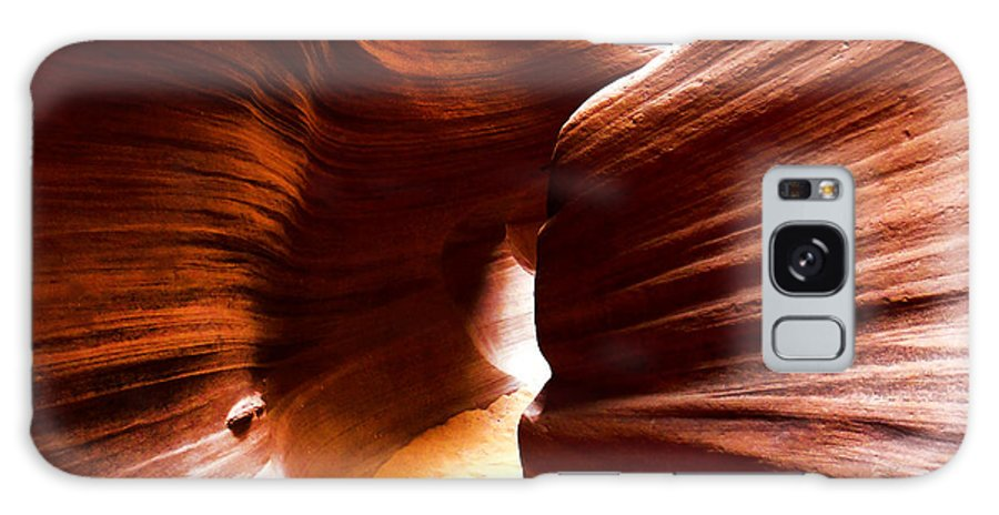 Edward Pollick Galaxy S8 Case featuring the painting Antelope Canyon 7 by Edward Pollick