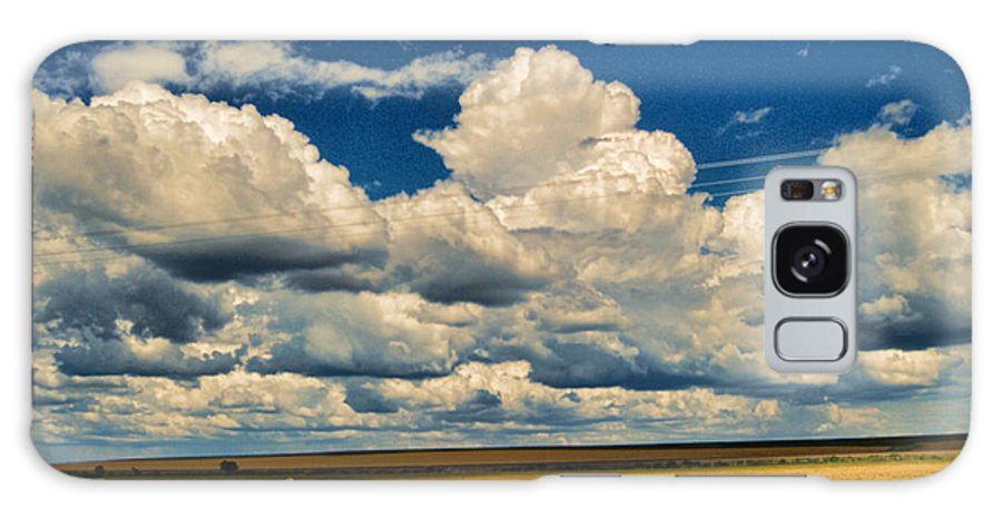 Wright Galaxy S8 Case featuring the photograph Approaching Storm by Paulette B Wright