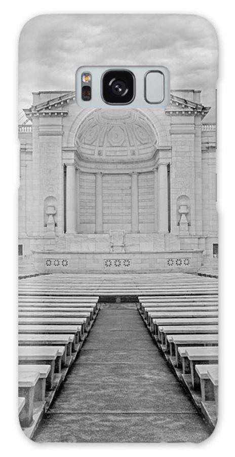 Arlington Galaxy S8 Case featuring the photograph Arlington Amphitheater by Susan Candelario