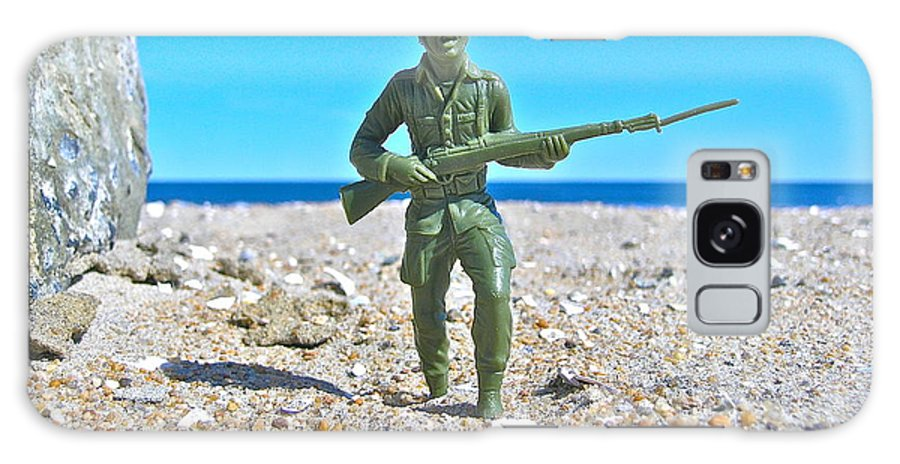 Galaxy S8 Case featuring the photograph Army Man by Ron Valentino