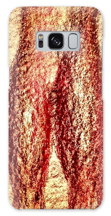 Brown Galaxy S8 Case featuring the photograph Art Therapy 141 by Michele Monk