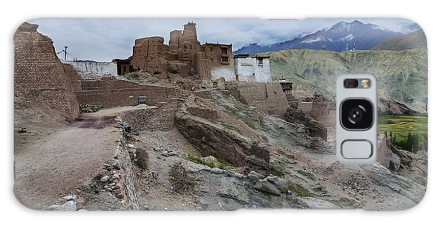 Ladakh Galaxy S8 Case featuring the photograph Basgo Monastery In Basgo Ladakh India by Rudra Narayan Mitra