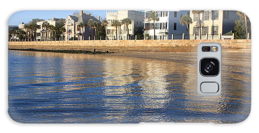 Battery Row Galaxy S8 Case featuring the photograph Battery Row-charleston by Mountains to the Sea Photo