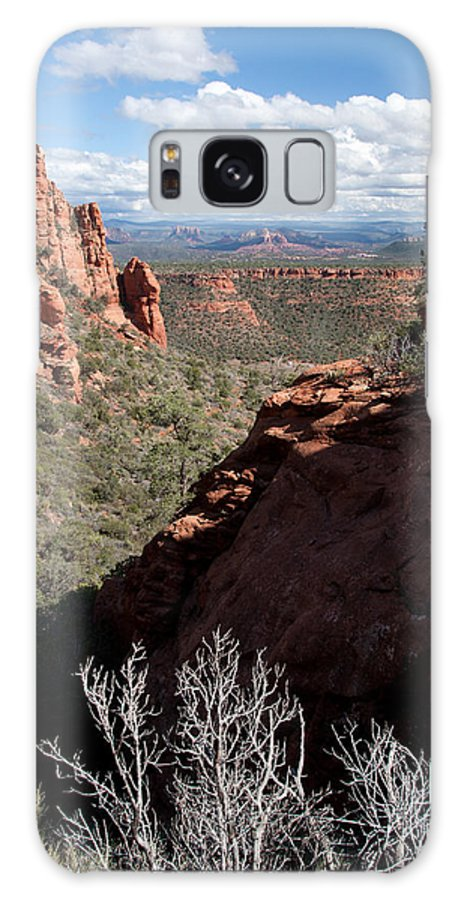 Sedona Galaxy S8 Case featuring the photograph Bear Mountain View Of Sedona by Steve Wile