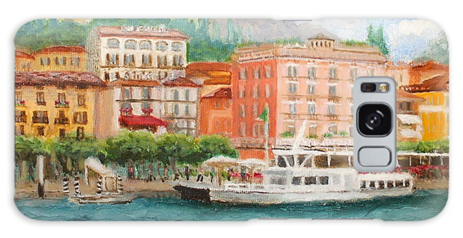 Bellagio Galaxy S8 Case featuring the painting Bellagio by Tracey Peer
