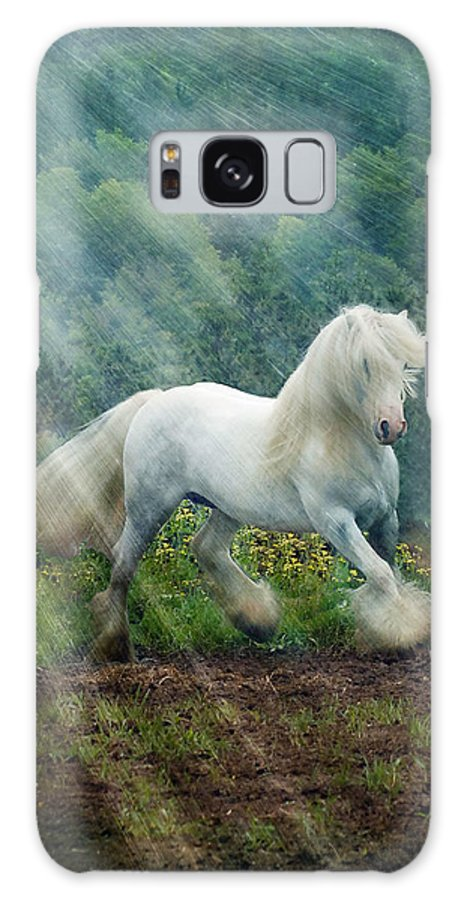 Horse Photographs Galaxy S8 Case featuring the photograph Billy Rays by Fran J Scott