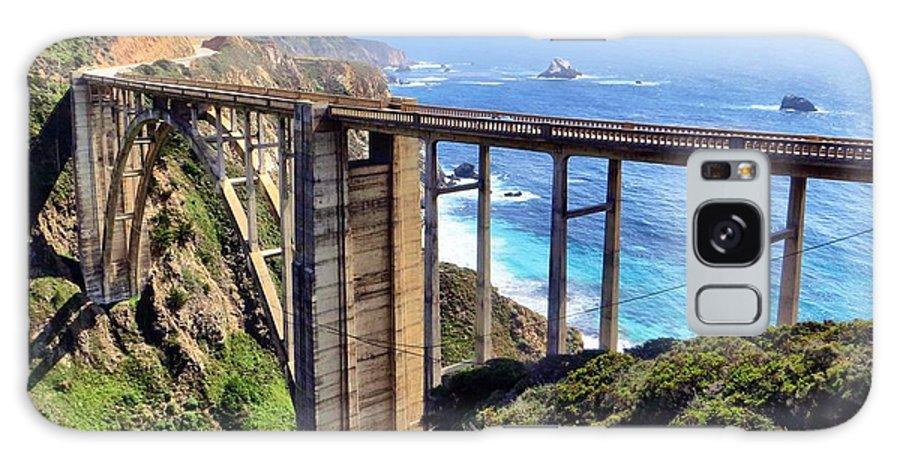 Coast Highway Galaxy S8 Case featuring the photograph Bixby Bridge by Jim Romo