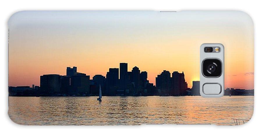 Galaxy S8 Case featuring the photograph Boston Skyline by Mithun Das