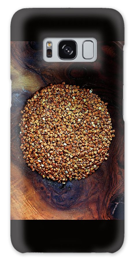 Grains Galaxy S8 Case featuring the photograph Buckwheat Grouts by Romulo Yanes