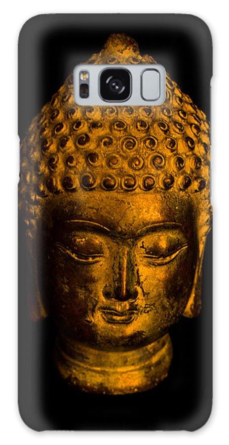 Buddha Galaxy S8 Case featuring the photograph Buddha Portrait by Frank Gaertner