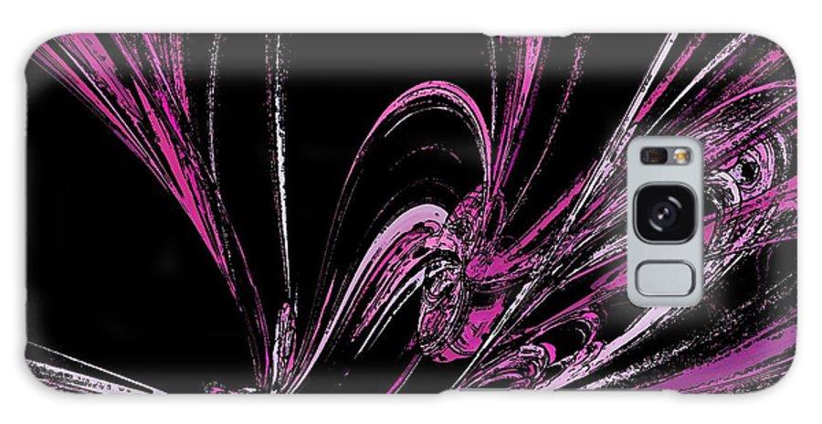 Pink Butterflies Galaxy S8 Case featuring the digital art Butterfly by Sharon Lisa Clarke