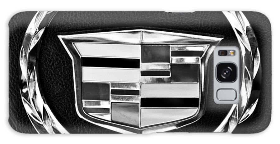 Cadillac Galaxy S8 Case featuring the photograph Cadillac Emblem by Jill Reger