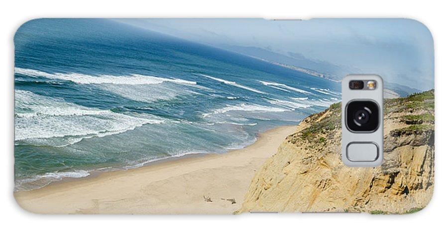 California Galaxy S8 Case featuring the photograph California Coast by David Hart