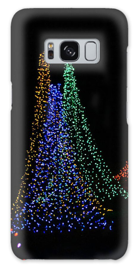 Celebration Of Lights Galaxy S8 Case featuring the photograph Celebration Of Lights - Oshkosh by Carol Toepke